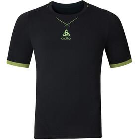 Odlo Ceramicool Seamless Shirt S/S Crew Neck Men black-safety yellow
